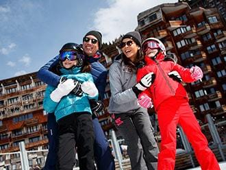 Ski avantages