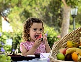 Kostenlose Mahlzeiten für die Kleinen!