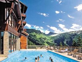 piscine montagne été