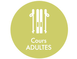 cours ski adultes