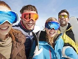 Gliss Club - Clases de esquí para adolescentes de 13-17 años