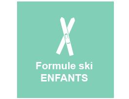 ski formule enfants