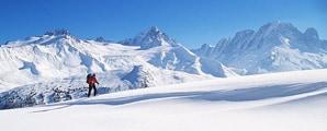 Französische Alpen  - Skiurlaub