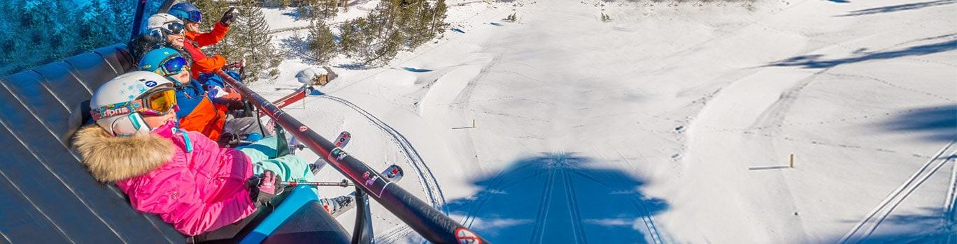 esquí niños