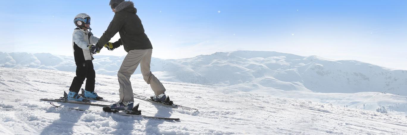 Christmas - Kids ski for free
