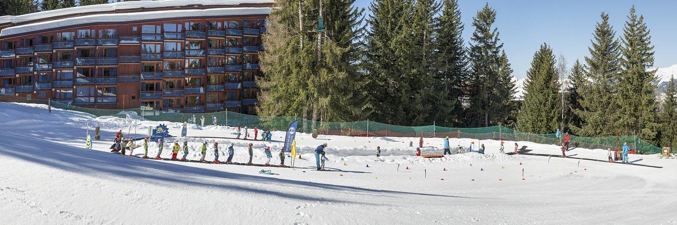 ski holidays les arcs