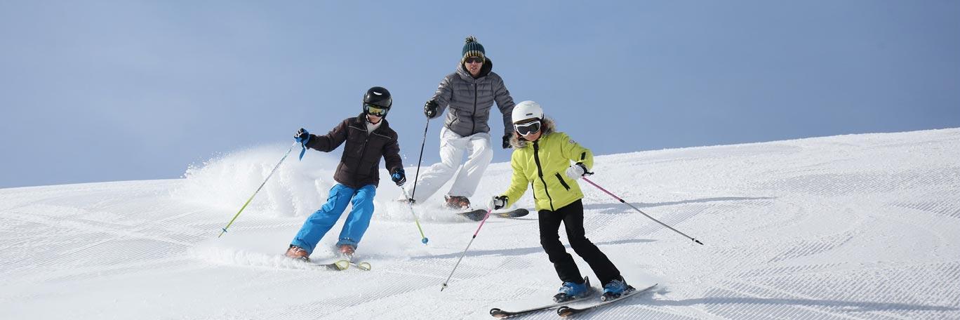 chidren ski
