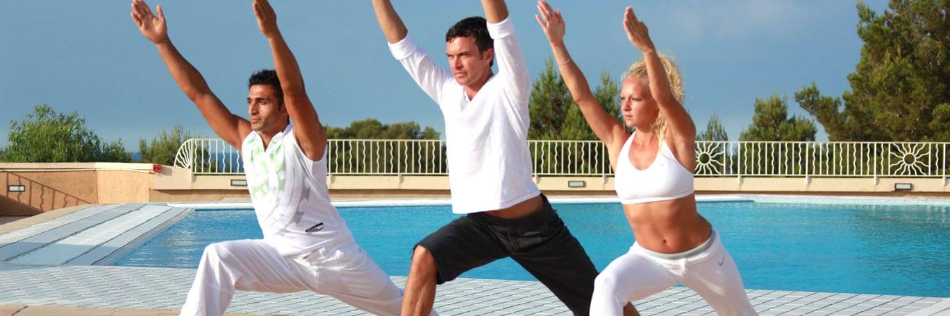 Vacaciones de fitness