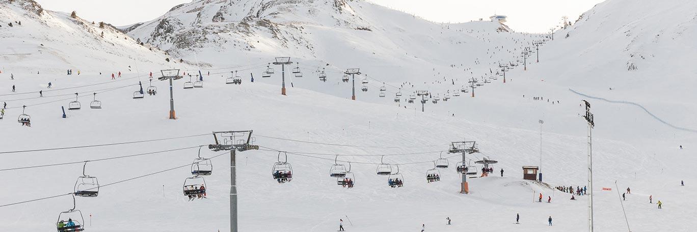 ¡Las estaciones de esquí abren!