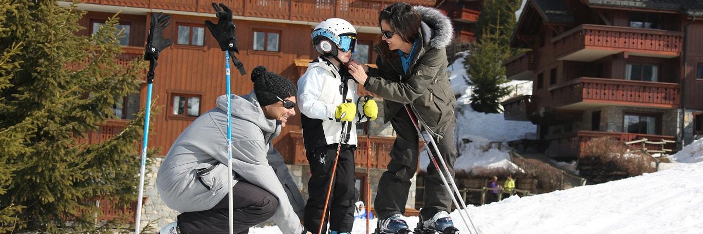 Résidences skis aux pieds
