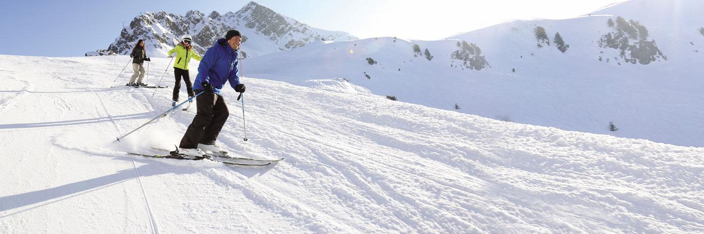Vacances au ski et détente