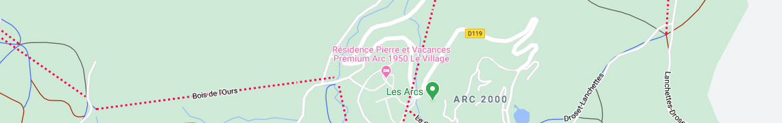 Your location residencepremium Arc 1950 Le Village