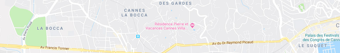 Your location Residence Cannes Villa Francia