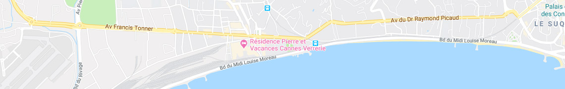 Your location Residence Cannes Verrerie