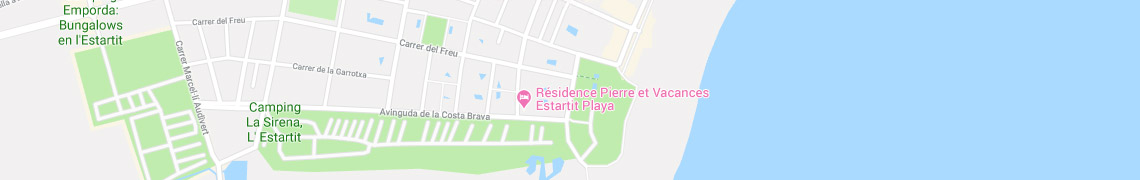 Your location Residence Estartit Playa