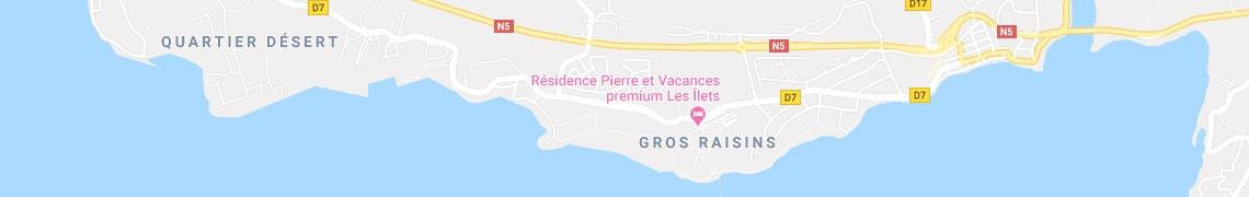 Votre localisation Résidence premium Les Îlets