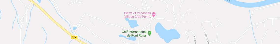 Your location Holiday Village Pont Royal en Provence