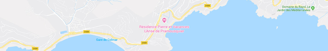 Su ubicación Apartamentos L'Anse de Pramousquier