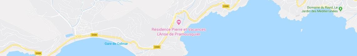 Jouw locatie residence L'Anse de Pramousquier