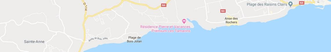 Su ubicación residencepremium Les Tamarins