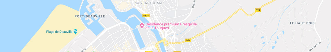 Votre localisation Résidence premium Presqu'Ile de la Touques