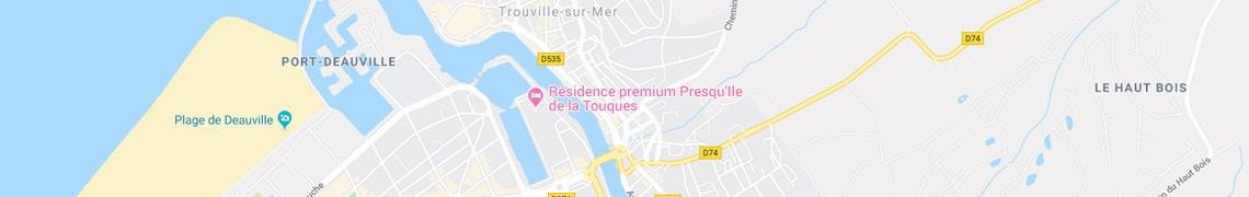 Ihre Position residencepremium Presqu'Ile de la Touques