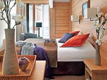 Apartamentos con una decoración refinada y auténtica