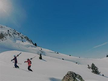 Springtime Skiing