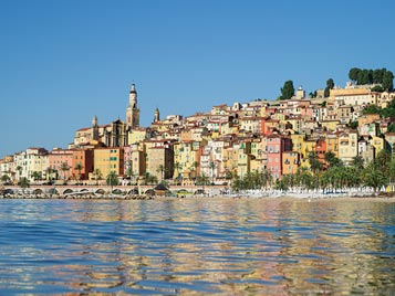 Mentone, Monaco, Costa Azzurra