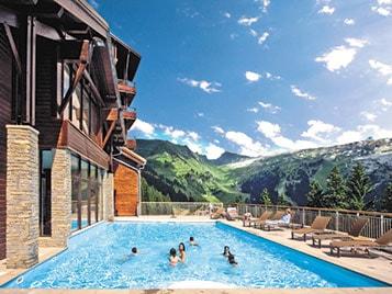 location ski avec piscine