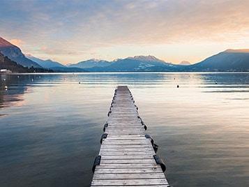 idées de week-end  bord de lac