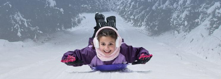 Kids ski pack